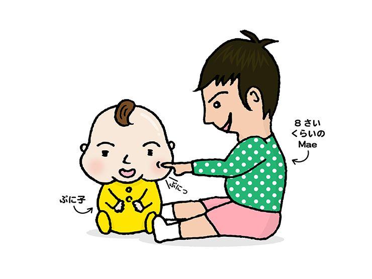 『にじいろ台湾』作者:Maeと妹の子供時代