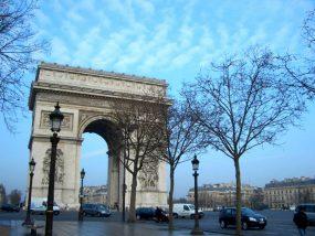 フランス・パリの凱旋門