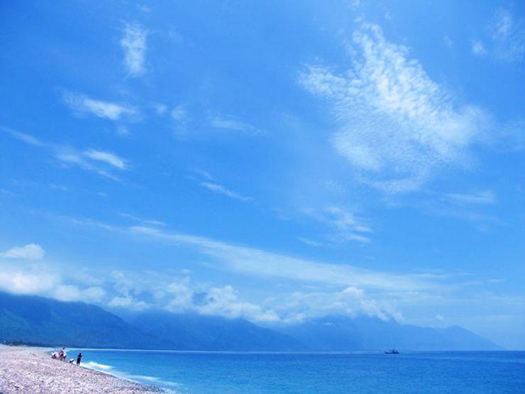 台湾東海岸・花蓮の海