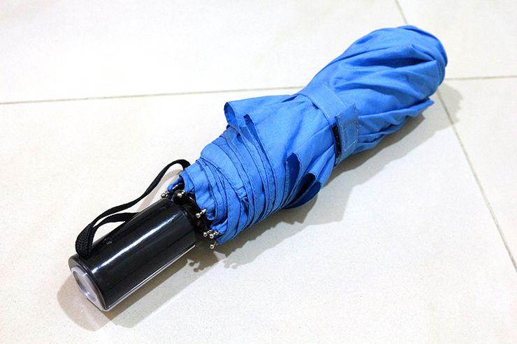 ワンタッチ式折りたたみ傘