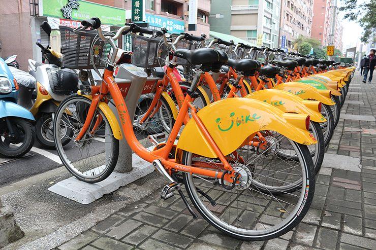 台湾のレンタサイクル「Youbike」
