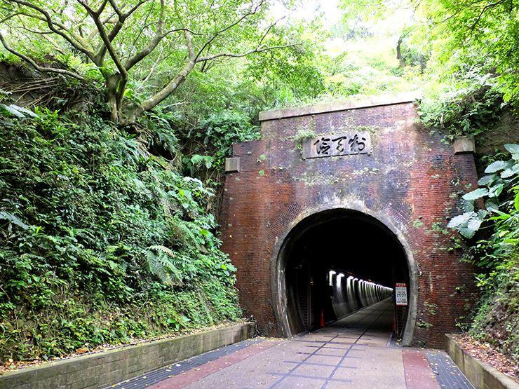 台北・福隆にあるトンネル