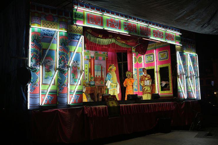 マレーシア・ジョージタウンの京劇