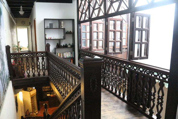 マレーシア・ジョージタウンのゲストハウス「Carnarvon House」の渡り廊下