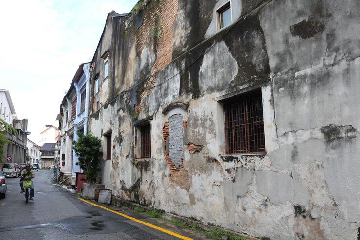 マレーシア・ジョージタウンの路地裏