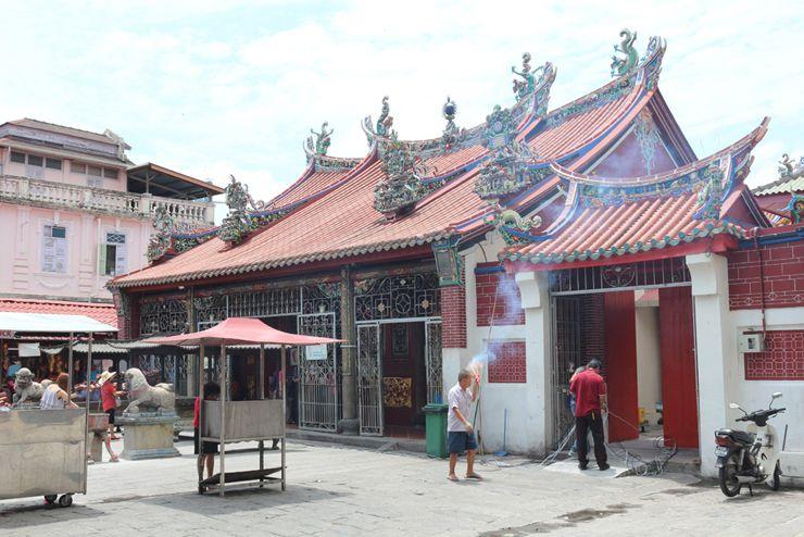 マレーシア・ジョージタウンの廟