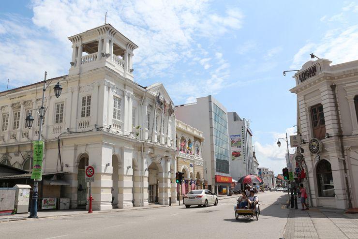 マレーシア・ジョージタウンの街並み