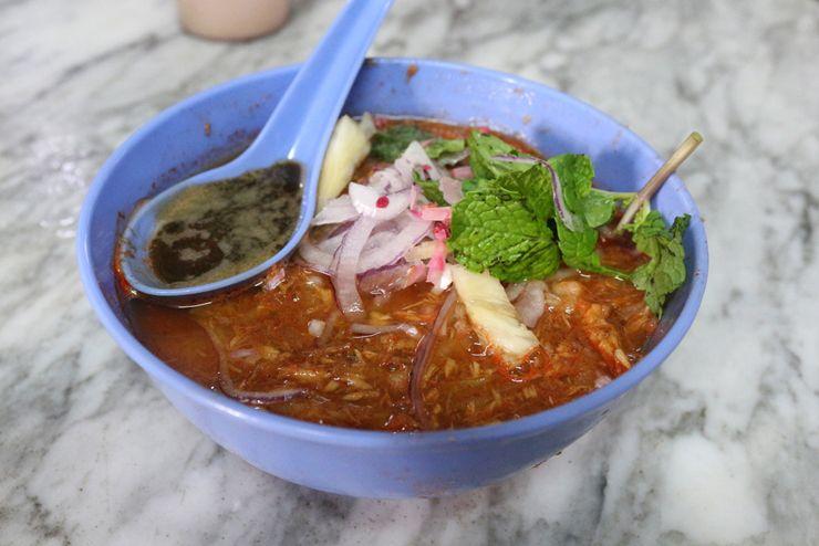 マレーシアのマレー系料理「Asam Laksa」
