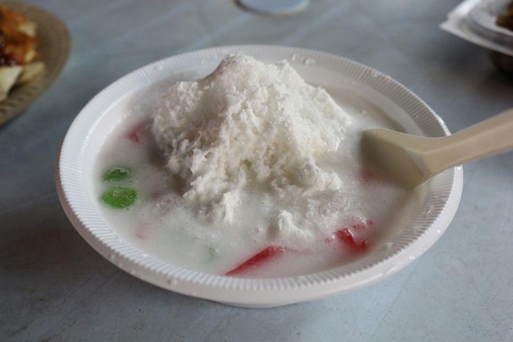 マレーシアのマレー系料理「Bubur Cha Cha」