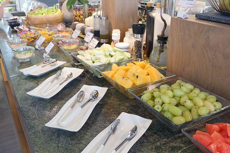 宜蘭・礁溪の温泉宿「ISPAVITA」の朝食バイキング