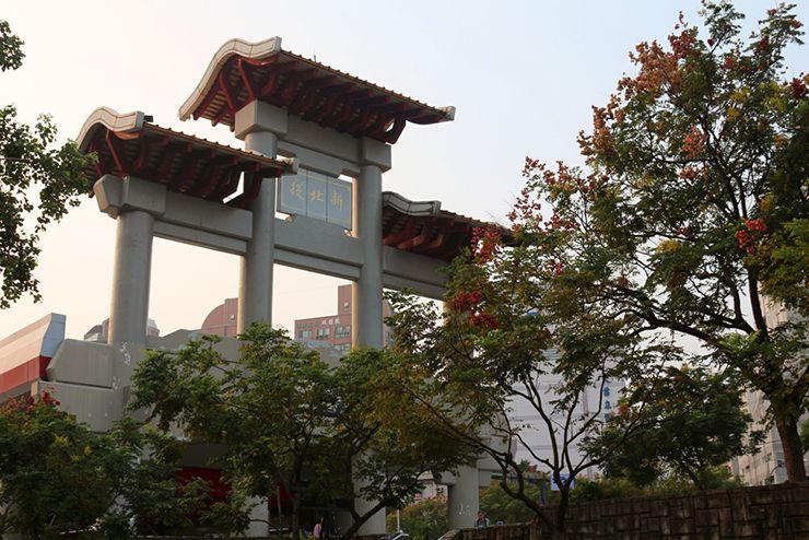 台北・北投温泉街の最寄MRT「新北投駅」
