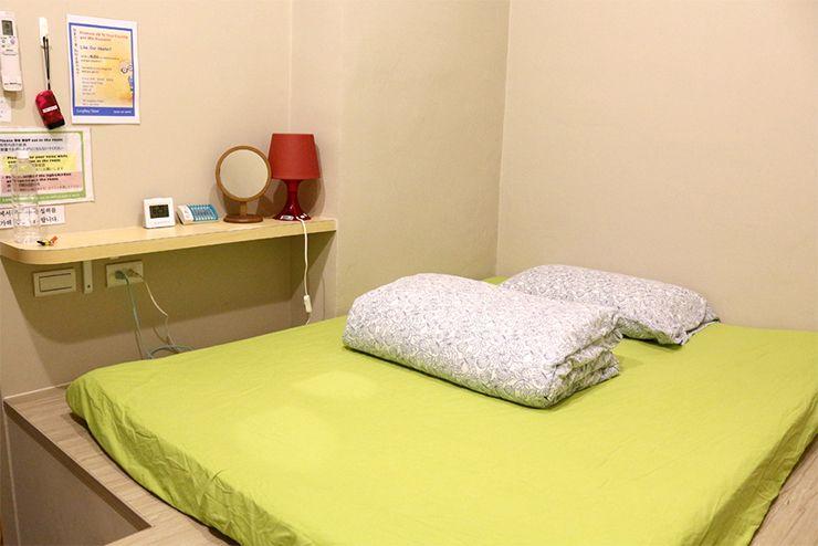 台北・北投温泉のゲストハウス「ロングステイ台北」個室ベッド