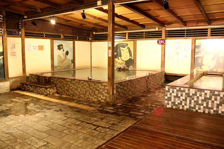 台北・北投温泉「百樂匯溫泉會館」の大浴場