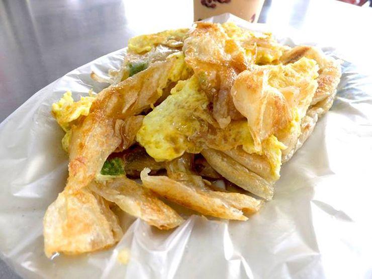 台湾朝ごはんの名物グルメ「蛋餅」