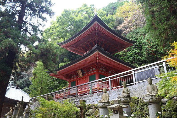 香川・八栗寺「二重の塔」