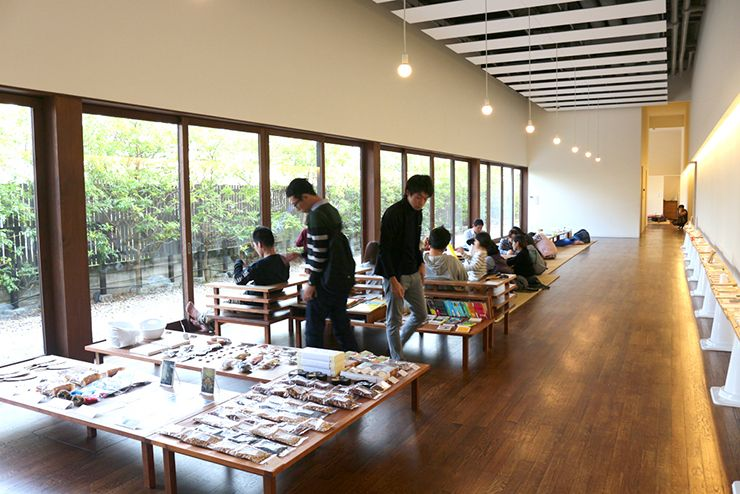 香川・仏生山温泉(天平湯)の休憩スペース