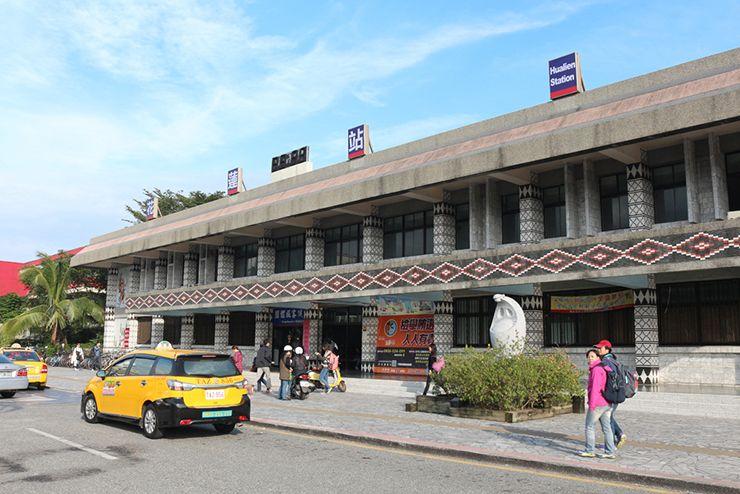 台鐵(台湾鉄道)花蓮駅