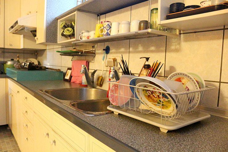 花蓮のLGBTフレンドリーゲストハウス「桂憩 Sweet Olive」のキッチン