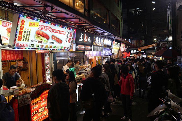 台北・西門町の小吃エリア