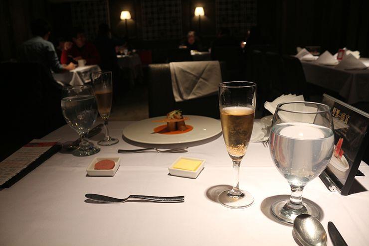 台湾の高級ステーキチェーン「王品 Wang Steak」のウェルカムドリンク