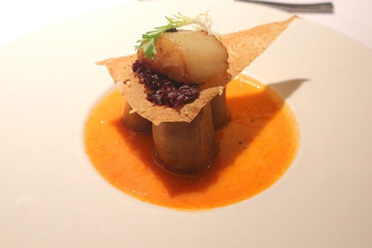 台湾の高級ステーキチェーン「王品 Wang Steak」の前菜
