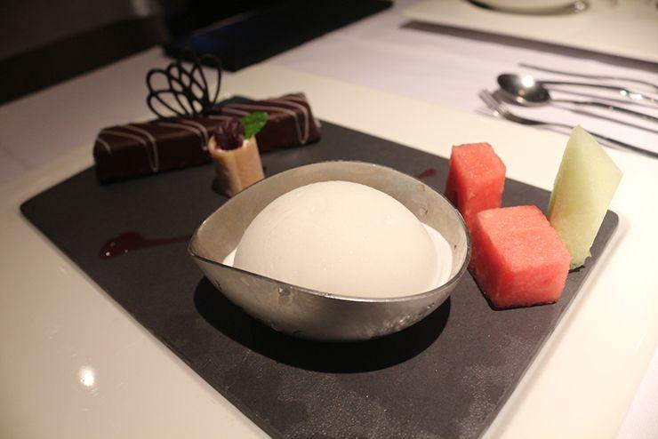 台湾の高級ステーキチェーン「王品 Wang Steak」のデザート