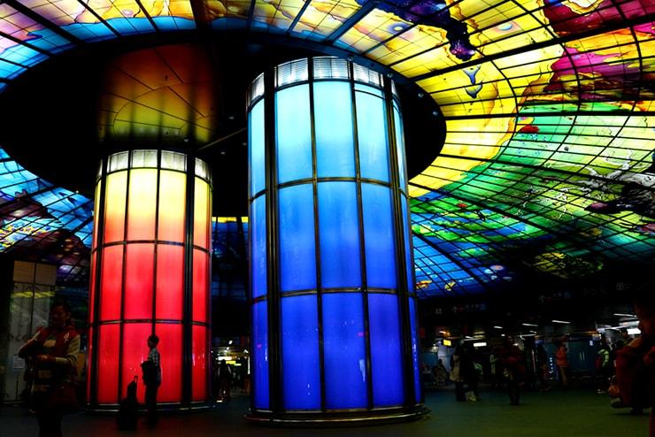 高雄・美麗島の人気観光スポット「光之穹頂(The Dome of Light)」