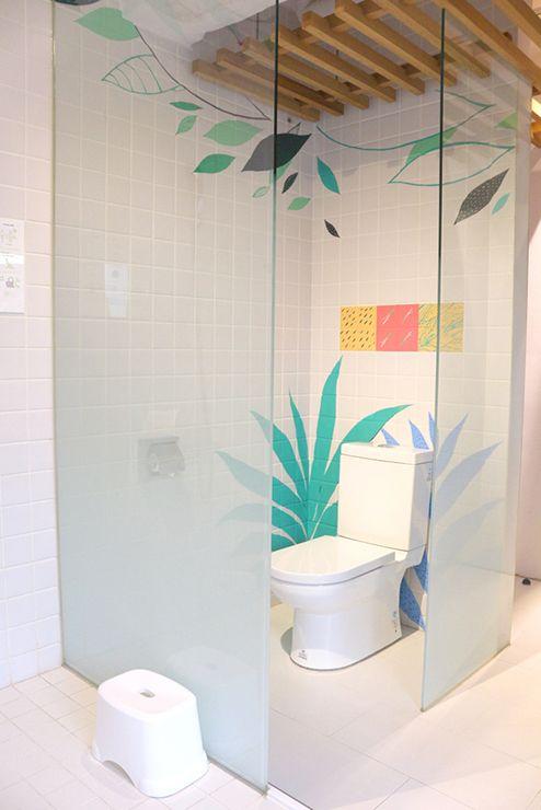 宜蘭・礁溪温泉「蔥澡 Hot Spring Onion」個室風呂のトイレ