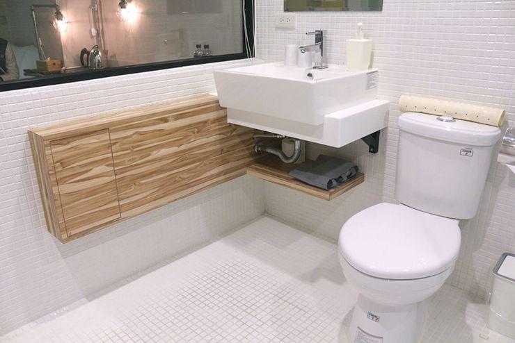 台北・西門町のLGBTフレンドリーホテル「町・記憶旅店 Cho Hotel」行政套房(Executive Double)のトイレ