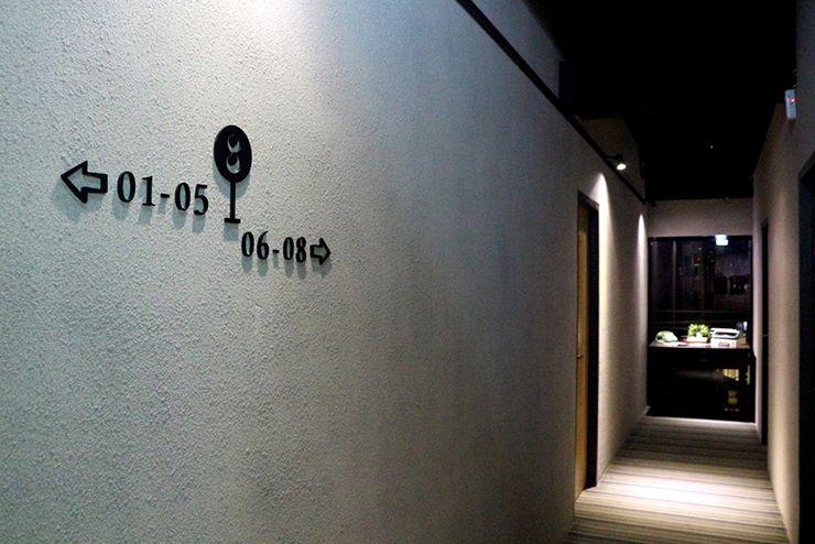 台北・西門町のLGBTフレンドリーホテル「町・記憶旅店 Cho Hotel」のエレベーターホール