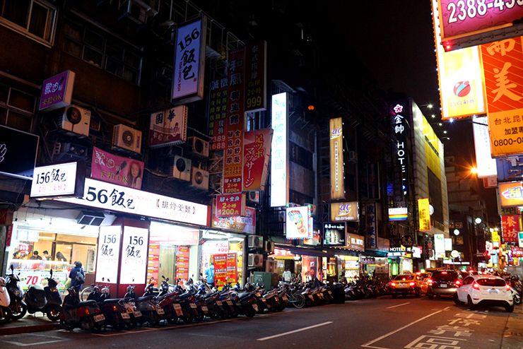台北・西門町「昆明街」