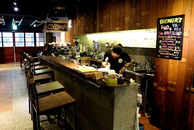 台北・西門町のLGBTフレンドリーホテル「町・記憶旅店 Cho Hotel」のカフェスペース