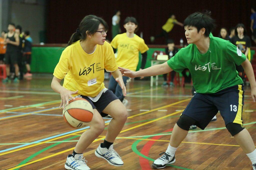 台灣同志運動會(台湾LGBT運動会)2016のバスケットボール