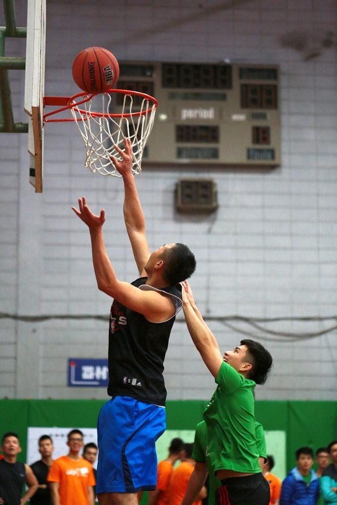 台灣同志運動會(台湾LGBT運動会)2016のバスケットボールシュート