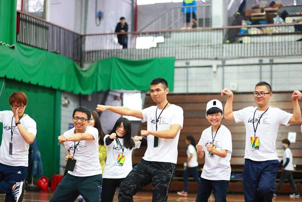 台灣同志運動會(台湾LGBT運動会)2016のイベントスタッフたち