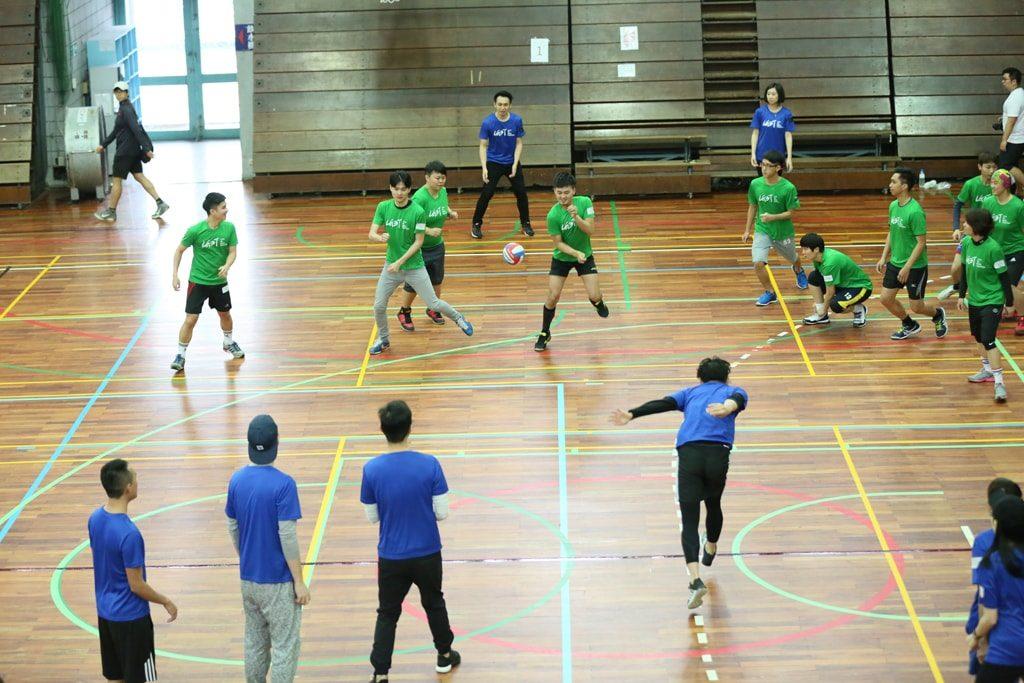 台灣同志運動會(台湾LGBT運動会)2016のドッジボール