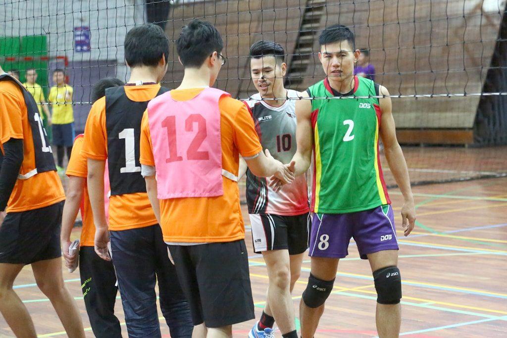 台灣同志運動會(台湾LGBT運動会)2016のバレーボール試合終了