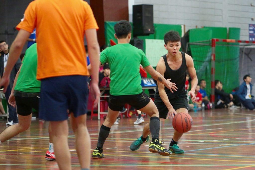 台灣同志運動會(台湾LGBT運動会)2016のバスケットボールドリブル