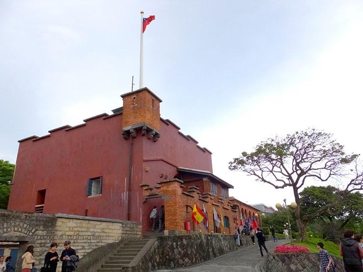 台北・淡水の有名観光スポット「紅毛城」