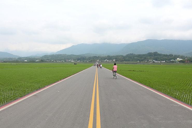 台湾の米どころ台東・池上の人気観光スポット「伯朗大道」