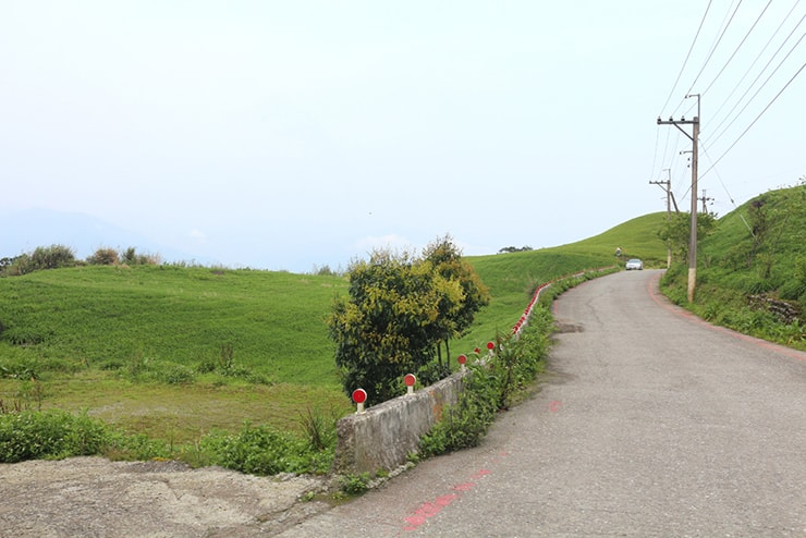 花蓮・六十石山の頂上への登り道
