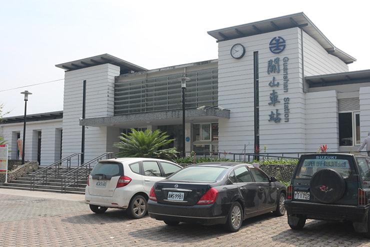 台鐵(台湾鉄道)關山駅