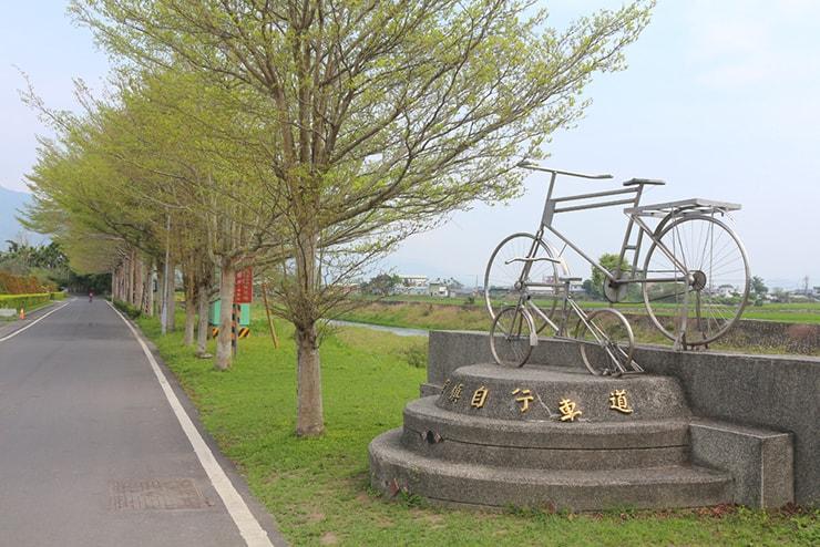 台東・關山のサイクリングロード