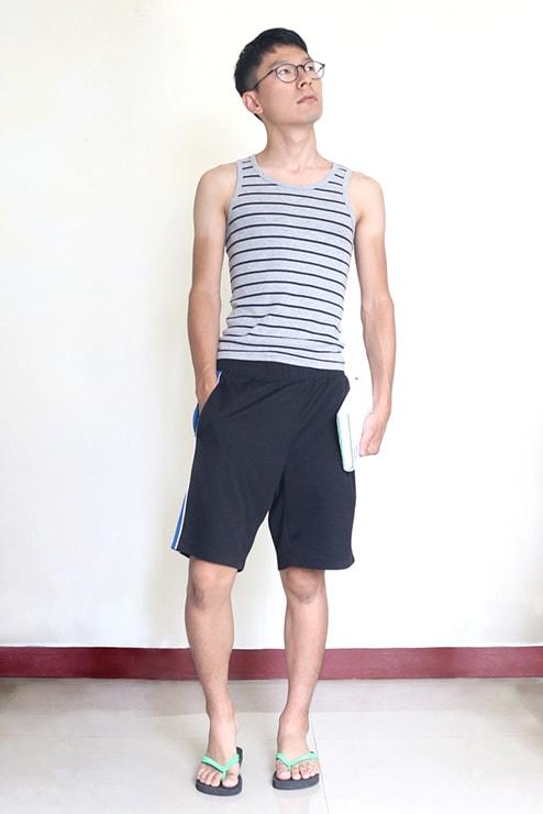 ゆるゆる台湾ファッションに身を包んだ『にじいろ台湾』作者:Mae