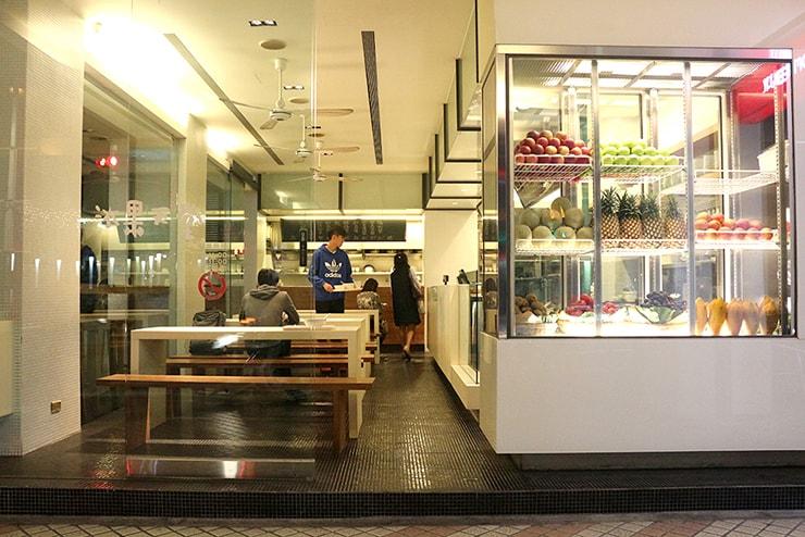 台北・永安市場「冰果天堂」の外観
