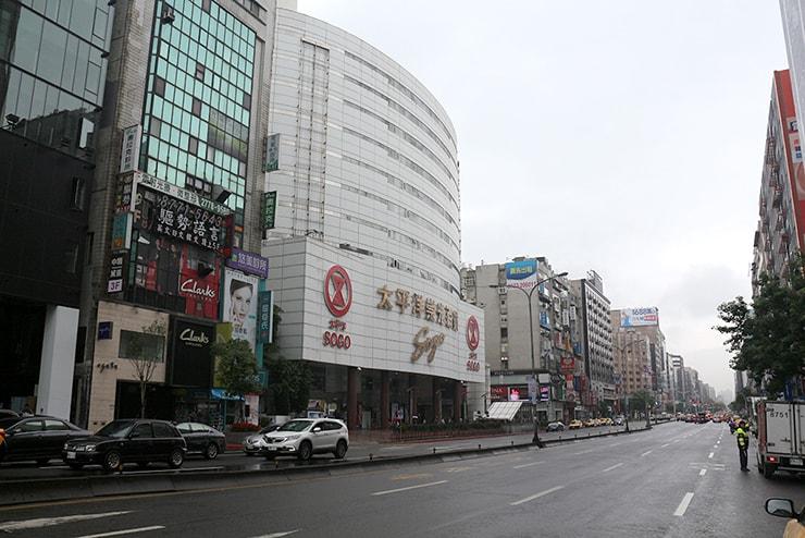 台北・東區「忠孝復興」のSOGO忠孝館
