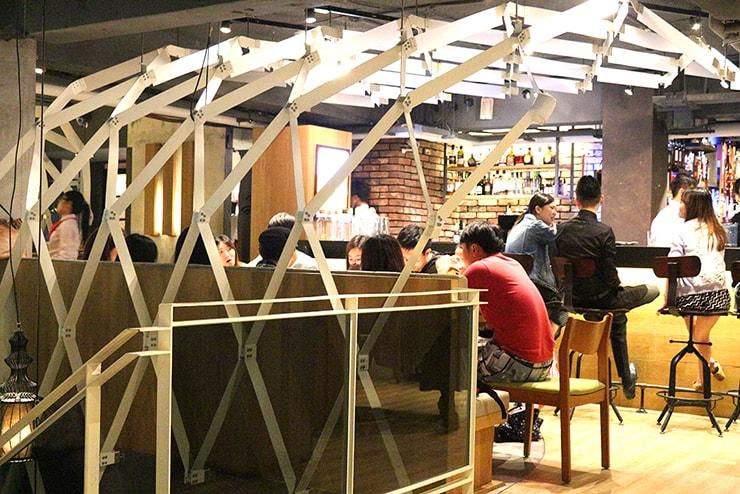 本格台湾料理レストラン「參和院(忠孝店)」のインテリア