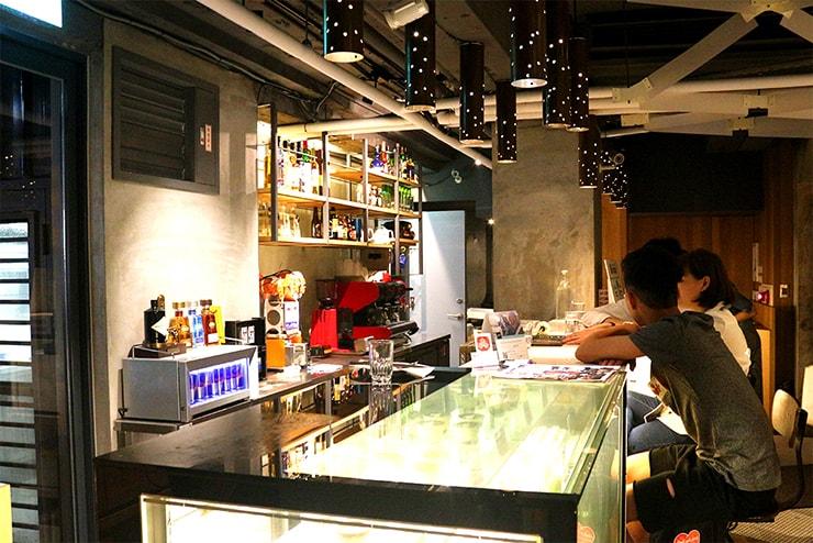 本格台湾料理レストラン「參和院(忠孝店)」のカウンター