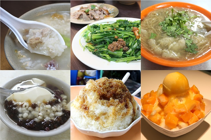 台北・永安市場の小吃・デザートまとめ