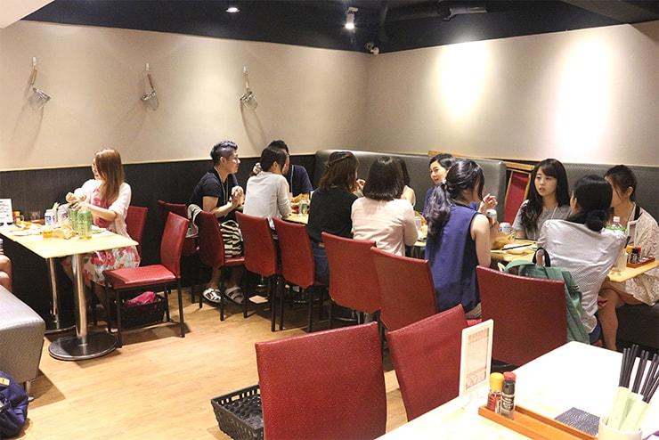 台北海外ブロガーオフ会2016の会場地下スペース